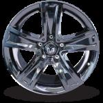 agt wheel black steel
